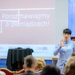K. Cyran-Juraszek opowiada o Prove it!, fot. O. Jarzyna Spółdzielnia Socjalna FAJNA SZTUKA