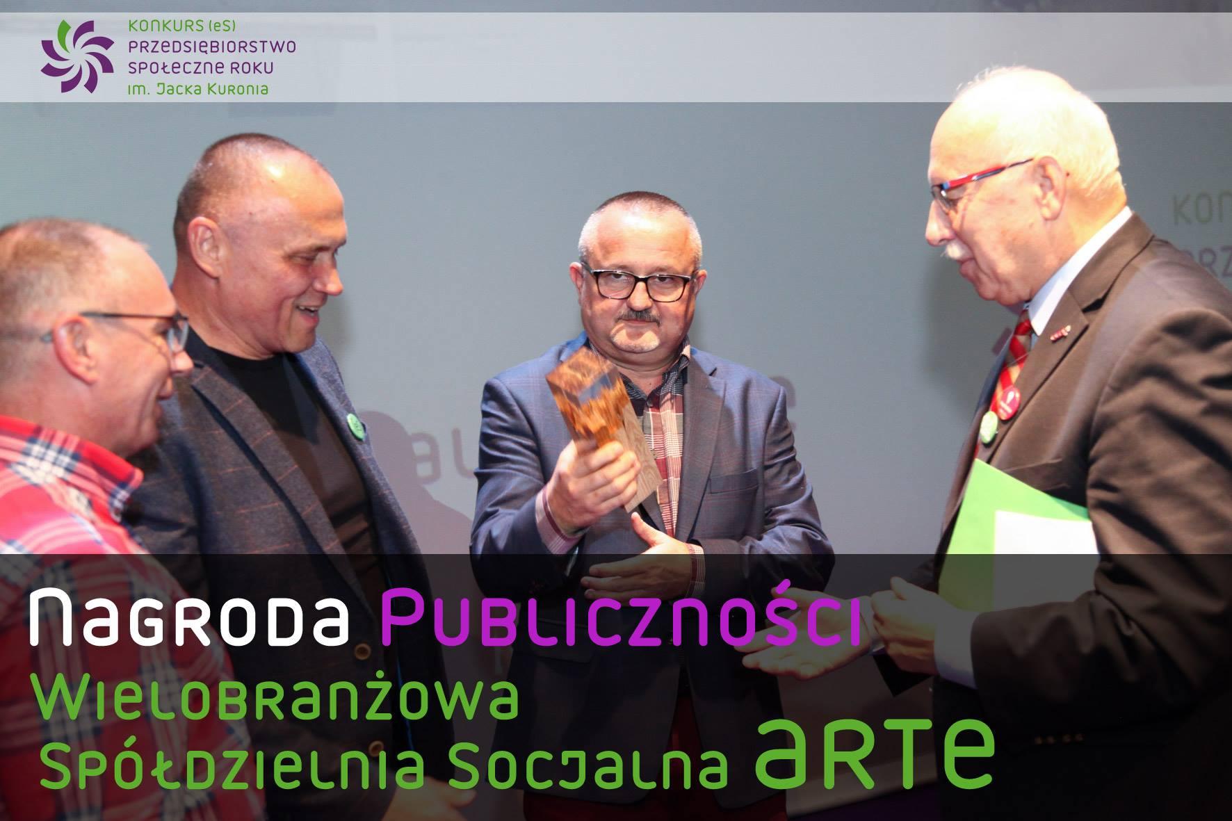 Nagroda publiczności w konkursie [eS] dla ARTE, fot. FISE