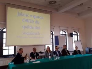 Panel dotyczący systemu wsparcia